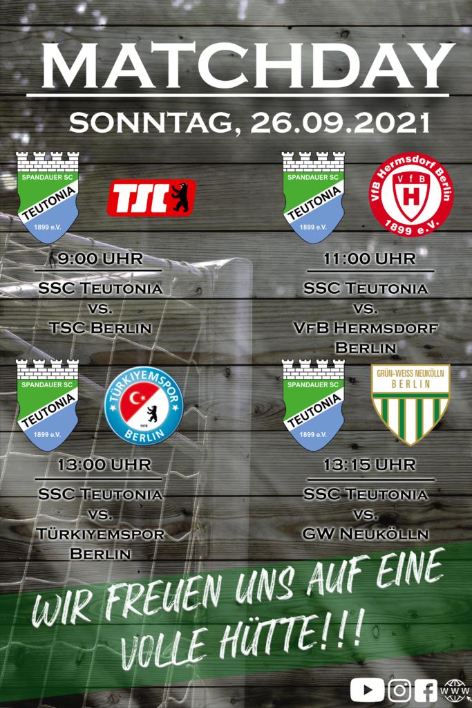 Matchday 26.09.2021